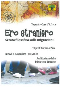 Ero straniero @ Biblioteca di Odolo | Casto | Lombardia | Italia
