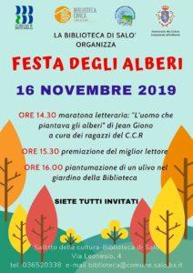 Festa degli alberi alla biblioteca di Salò @ Biblioteca Salò | Salò | Lombardia | Italia
