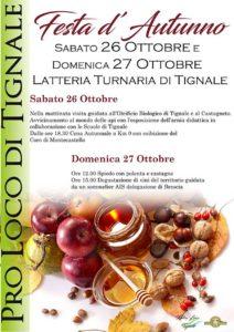 Festa d'autunno a Tignale @ Luogo Latteria Turnaria di Tignale