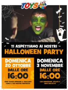 Halloween Party @ Toys Center di Salò