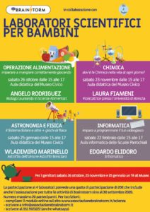 Laboratori scientifici per bambini @ Manerbio