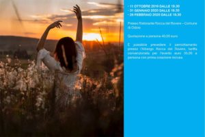 7 strategie antistress con Linfainmovimento @ Ristorante Rocca del Rovere