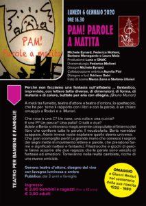 Pam! Parole a matita @ Teatro San Filippo | Palazzolo sull'Oglio | Lombardia | Italia