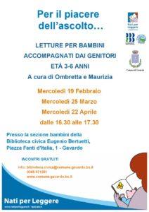Per il piacere dell'ascolto @ Biblioteca Gavardo | Gavardo | Lombardia | Italia