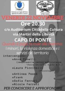 Quando il papà fa male alla mamma @ AuditoriumCittà della Cultura | Capo di Ponte | Lombardia | Italia