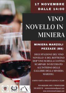 Vino novello in Miniera @ Miniera di Pezzaze | Pezzaze | Lombardia | Italia