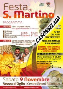 Festa di San Martino e Casonselada a Vezza d'Oglio @ Centro Eventi Adamello