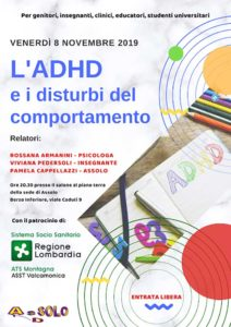 ADHD e i disturbi del comportamento @ Berzo Demo