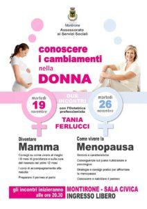 Conoscere i cambiamenti nella donna @ Sala civica Montirone