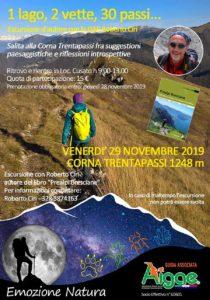 """Escursione """"1 lago, 2 vette, 30 passi"""" con Emozione Natura @ Loc. Cusato (689 m) – Zone (BS)"""
