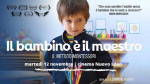 Il bambino è il maestro - il metodo Montessori al Nuovo Eden @ Nuovo Eden