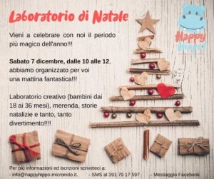 Laboratorio di Natale con Happy Hippo @ Happy Hippo