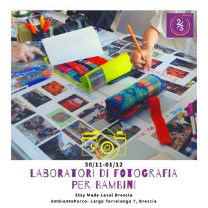 Laboratori di fotografia per bambini @ AmbienteParco