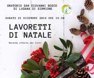 Lavoretti di Natale @ Oratorio San Giovanni Bosco