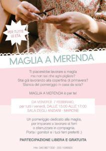 Maglia a merenda a Marone @ Sala degli anziani | Marone | Lombardia | Italia
