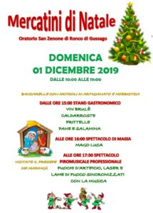 Mercatini di Natale a Ronco di Gussago @ Oratorio San Zenone di Ronco di Gussago