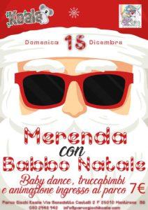 Merenda con Babbo Natale al Koala @ parco giochi Koala | Brescia | Lombardia | Italia