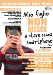 Mio figlio non riesce a stare senza smartphone @ Chiesa di Santa Maria degli Angeli (Brescia)