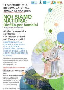 NOI SIAMO NATURA: Biofilia per bambini @ Rocca di Manrba