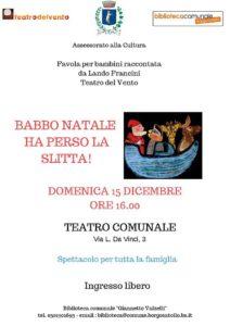 Babbo Natale ha perso la slitta @ Teatro comunale di Borgosatollo | Borgosatollo | Italia