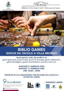 Biblio Games - Desenzano @ Villa Brunati   Desenzano del Garda   Lombardia   Italia