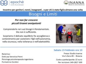 Bisogni e limiti @ Inanna - Studio di Arte Ostetrica | Lombardia | Italia