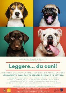 Leggere... da cani alla biblioteca di Concesio @ Biblioteca di Concesio | Concesio | Lombardia | Italia
