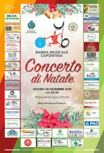 Concerto di Natale della banda musicale capontina @ Palasport di Capo di Ponte