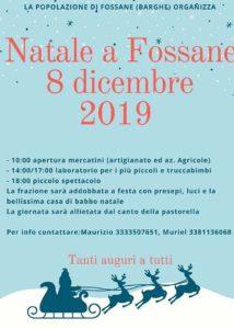 Natale a Fossane @ frazione di Fossane