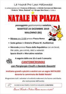 Natale in piazza a Malonno @ Malonno