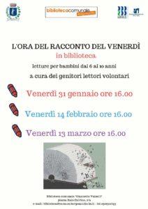L'ora del racconto del venerdì @ Biblioteca Borgosatollo | Borgosatollo | Italia