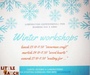 Winter Workshop al Little Ranch @ Little Ranch | Lograto | Lombardia | Italia