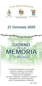Giornata della memoria - Brescia @ Brescia