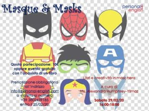 Masque and Masks @ Personal English