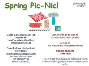 Spring Picnic @ Personal English