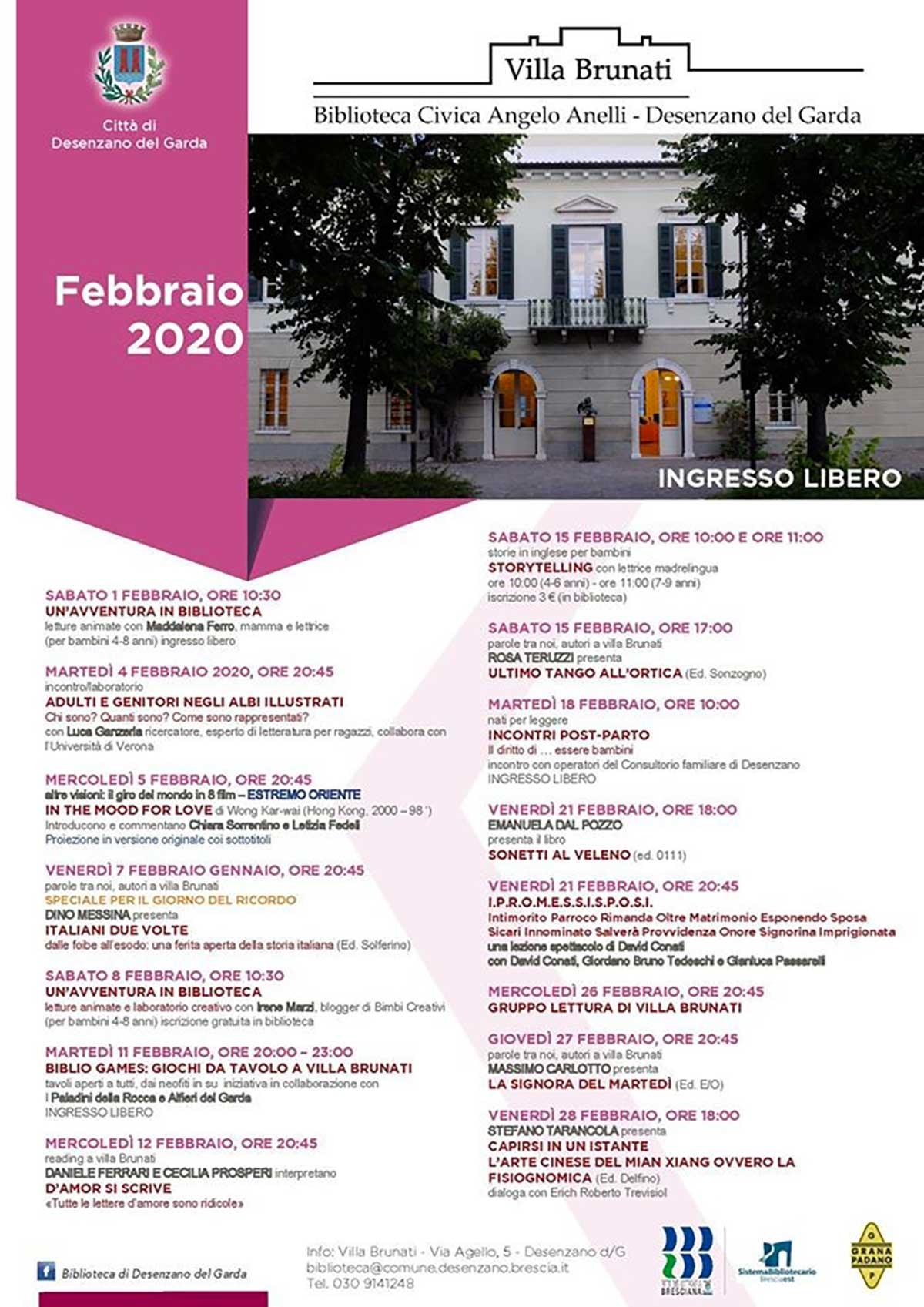 appuntamenti-villa-brunati-desenzano-febbraio-2020