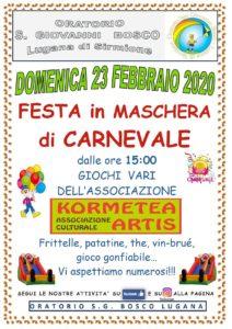 Carnevale a Sirmione @ Oratorio San Giovanni Bosco
