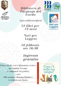 Letture per piccoli in  biblioteca a Puegnago @ Biblioteca di Puegnago
