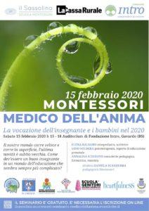 Montessori, medico dell'anima @ auditorium Fondazione INTRO