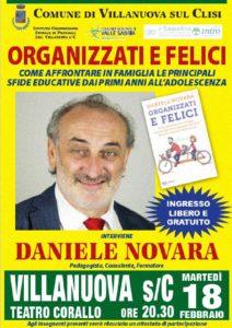 Organizzati e felici a Villanuova @ Teatro Corallo Villanuova sul Clisi | Villanuova Sul Clisi | Lombardia | Italia