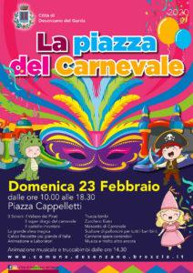 La piazza del Carnevale a Desenzano @ Desenzano