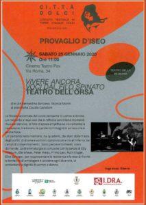 Giornata memoria a Provaglio @ Cinema Teatro Pax di Provaglio