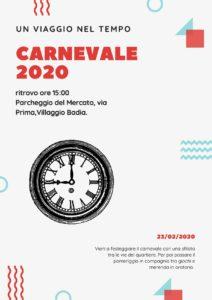 Carnevale 2020 villaggio Badia @ Villaggio Badia Berscia