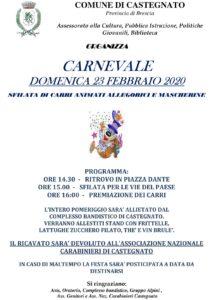 Carnevale a Castegnato @ Castegnato