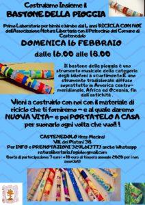 Costruiamo il bastone della pioggia @ Villaggio dei Platani 28 Castenedolo 25014