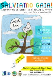 Salviamo Gaia @ Biblioteca di Monte Isola