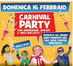 Carnival Party @ Toys Center Salò