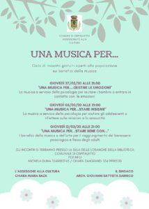 Una musica per... @ Sala delle Losanghe Biblioteca di Ospitaletto
