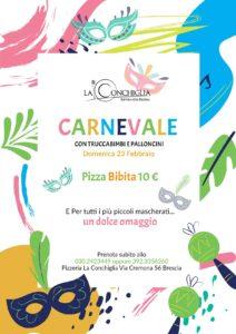 Carnevale con truccabimbi @ Ristorante La Conchiglia