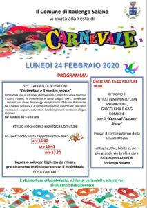 Carnevale a Rodengo Saiano @ Rodengo Saiano